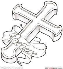 Crosses Tattoos - designs on clipart library cross tattoos embroidery patterns