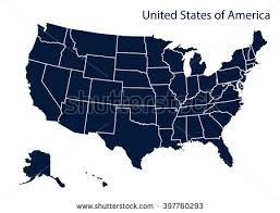 us vector map united states map vector free vector stock