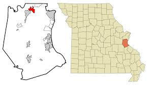 Map Of Hillsboro Oregon by High Ridge Missouri Wikipedia