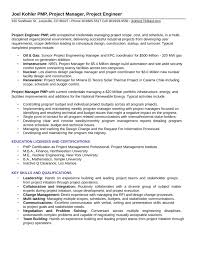 construction engineer resume sample executive project engineer resume template