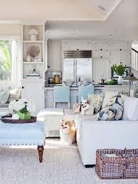 Coastal Living Kitchens - floral interior design 101