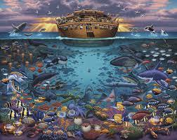 noah u0027s ark under the sea puzzle dowdle folk art