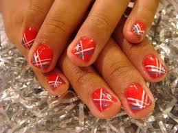 patriotic nails from mane u0027n tail