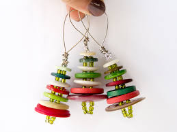 christmas tree ornaments with buttons christmas tree ornaments