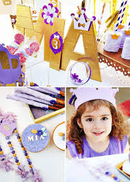 purple gold u0026 magical sofia the first birthday party hostess