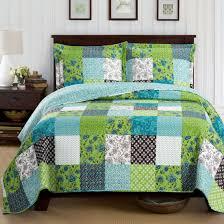 King Size Coverlet Sets Rebekah Lightweight Wrinkle Free Spring Quilt Set On Sale