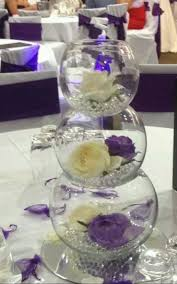 table decorations for wedding fish bowl decoration tables weddings 9818
