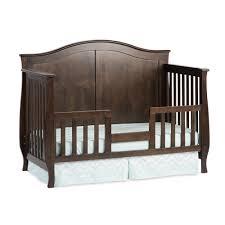 home interior bears baby cribs boho cotton nursery harriet bee toddler crib rail