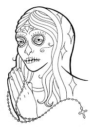 sugar skull virgin by onfire4him on deviantart