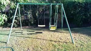 Porch Swing Fire Pit by 30 Beautiful Porch Swings Brisbane Pixelmari Com