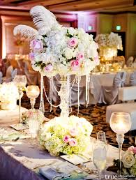 Vintage Centerpieces Wedding Centerpieces With Pearls For Luxurious Wedding Decoration