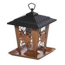 perky pet sun and star metal brown hopper bird feeder 370 the