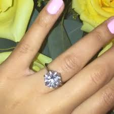 Joanna Gaines Wedding Ring by Angela Simmons U0027 Round Cut Diamond Ring The Engagement Ring Bible