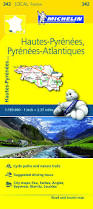 Biarritz France Map by Local Map France Pyrenees West Michelin Maps U0026 Guides