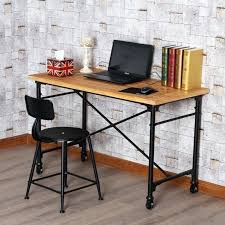 Antique Conference Table Desk American Country Wrought Iron Wood Office Furniture Wood