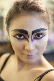 black swan costume makeup ideas