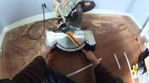 how to cut 90 degree cove moulding youtube
