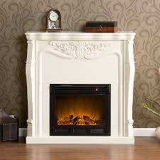 Decor Home Depot Electric Fireplaces by Best White Electric Fireplace All Home Decorations