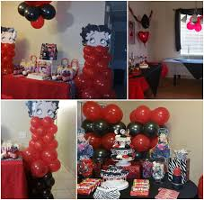 betty boop home decor betty boop party theme decorations betty boop party decorations