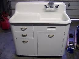 vintage cast iron sink drainboard antique high backsplash cast iron porcelain drainboard sink