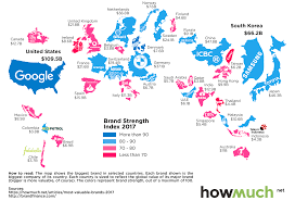 Where Is Italy On The Map by Infographic This Map Shows The Most Valuable Brand For Each Country