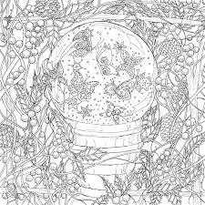 butterfly garden coloring book seasons lynn anne