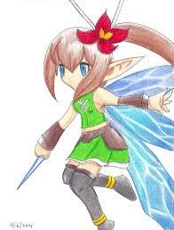 brave frontier fairy yunaofparadise deviantart