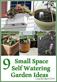 lazy budget chef 9 small space self watering vegetable garden