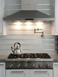 Glass Backsplashes For Kitchens Kitchen Of The Day Modern Creamy White Cabinets With A Solid