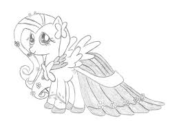 printable 13 my little pony coloring pages fluttershy 3213