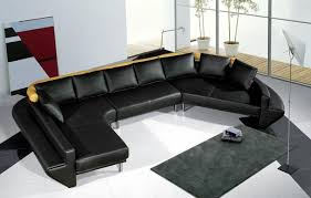 black sectional sofa bed furniture maroon red sectional sofa with leather finishing
