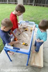 Water Table Toddler How To Build A Pvc Pipe Sand And Water Table