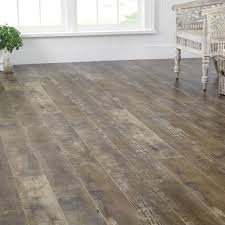 Waterproof Laminate Flooring Home Depot Mohawk 4 86 In X 47 16 In 12mm Reclaime Chestnut Laminate Flooring