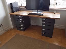 ikea alex desk drawer large computer desk drawers new furniture