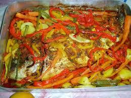recette poisson marocain vidéo chiourim