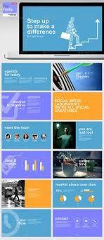powerpoint vorlagen design social powerpoint template soziale medien und projekte