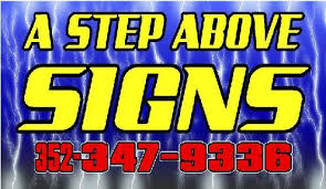 a step above a step above signs home facebook