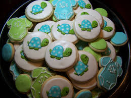 turtle baby shower ligth blue green boy turtle birthday party or baby shower