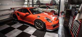 garage flooring and shop racedeck floors three porsches racedeck garage floors flooring with