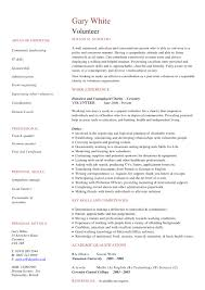 Social Worker Resume Sample Templates by Resume For Volunteer Work Free Resume Example And Writing Download