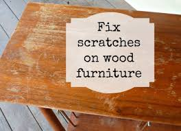 how to fix scratches on wood furniture diy projects craft ideas