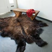 Bison Hide Rug Xl Full Buffalo Robe Hide Rug Buffalo Robe Hide Pinterest