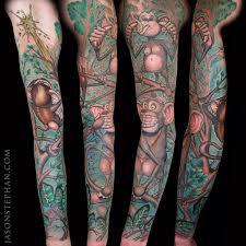 hear no evil see no evil speak no evil monkeys tattoo jason