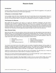 How To Do A Work Resume Examples Of A Job Resume Sample Resume123