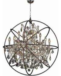 Crystal And Gold Chandelier Deals On Brilliance Lighting And Chandeliers Foucault U0027s Orb