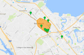 Pg E Power Outage Map Thousands Lose Power In San Mateo Pg U0026e Says Updated San Mateo