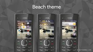 nokia c2 hot themes beach theme nokia x2 00 6303i classic x2 02 x2 05 asha 206 themes