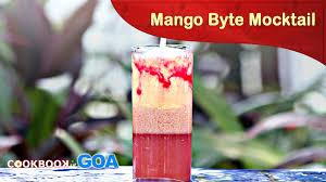 mango byte mocktail goa novotel cook book learn to make