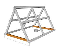 ana white a frame chicken coop diy projects 鶏舎 a型