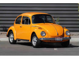 volkswagen beetle yellow 1973 volkswagen beetle for sale on classiccars com